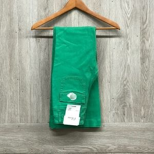 Olivia Flare Jeans Green
